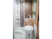 Adria Compact SP bathroom shower