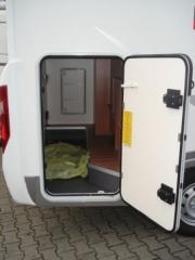 Adria Compact SP garage