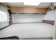 Adria Compact SP rear bed
