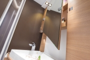 Adria Compact SP bathroom cupboards