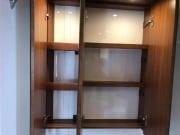 2 berth Hobby Vantana 65 bathroom cupboard