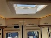 2 berth Hobby Vantana 65 bedroom rooflight