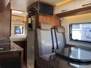2 berth Hobby Vantana 65 forward seatbelts