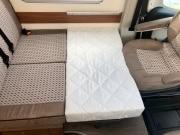 2 berth Hobby Vantana 65 lounge bed