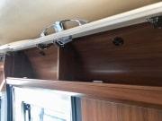2 berth Hobby Vantana 65 overhead storage
