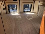 2 berth Hobby Vantana 65 rear double bed