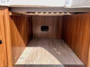 2 berth Hobby Vantana 65 under garage