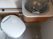 Flexo SLiding sink for loo use