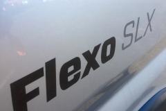Flexo badge