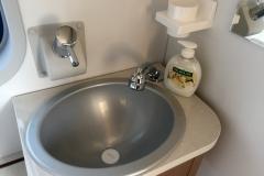 Flexo bathroom sink