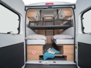 SunLiving V65SL rear doors open