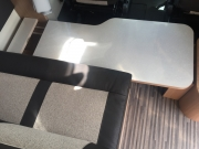 Table as bed base