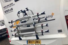 SunLiving A35SP rear bike rack