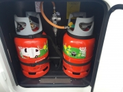 2 calor gas bottles