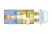 670 SL Floor plan