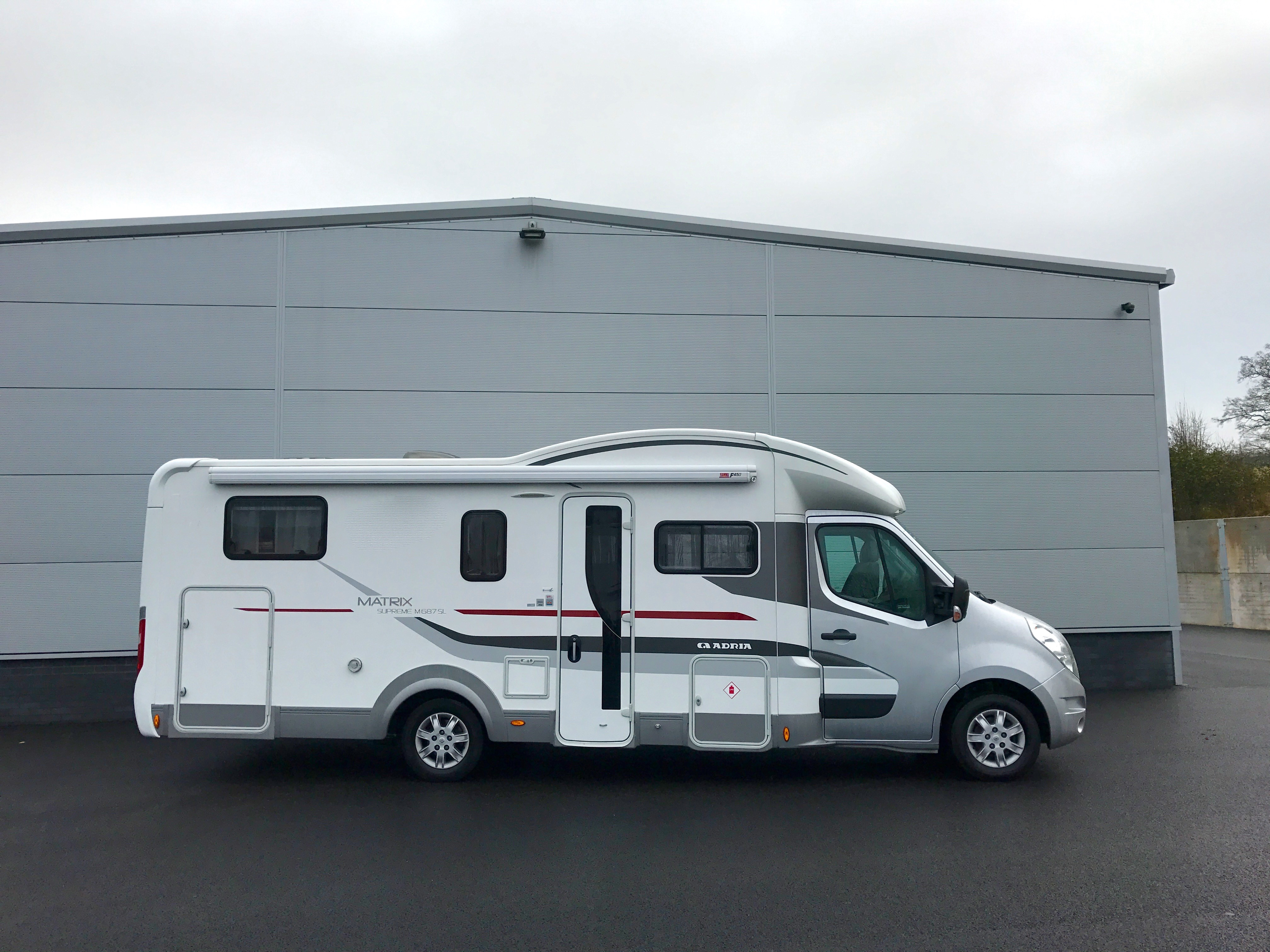Adria Matrix Supreme For Sale Used Motorhome Now