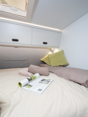 SunLiving S70SP rear bed view