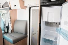 SunLiving S75SL fridge open