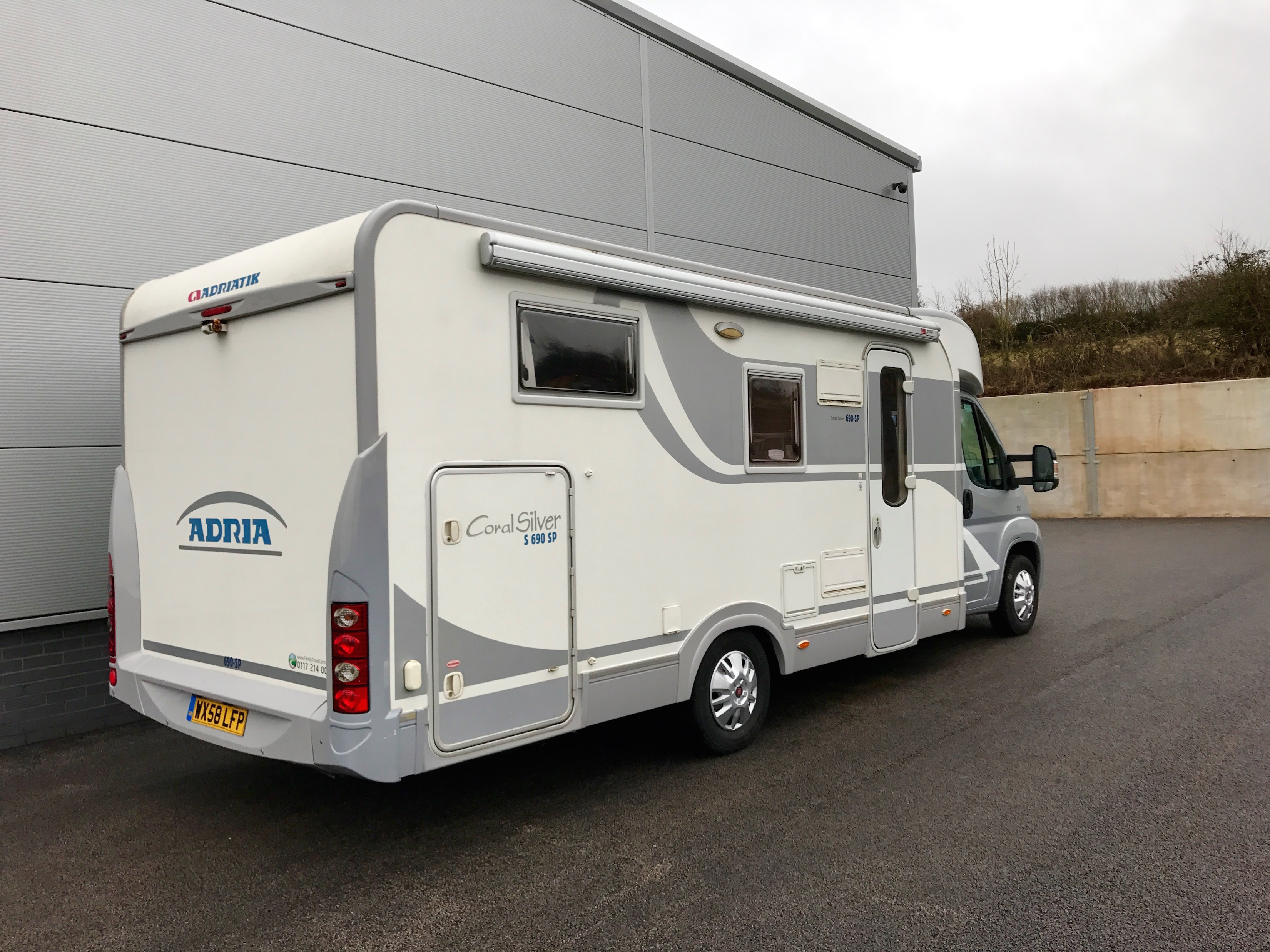 3 Berth Adria Coral For Sale Motorhome Holiday Company