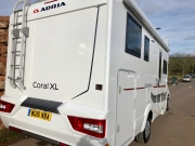 Adria Coral XL Plus rear corner