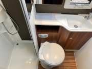 Adria Coral XL Plus toilet and shower