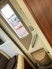 Adria Coral XL Plus aircraft style door