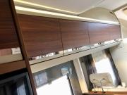 Adria Coral XL Plus lounge storage