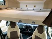 Adria Coral XL Plus overcab bed