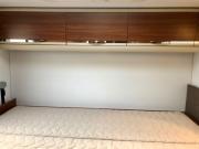 Adria Coral XL Plus rear bed storage