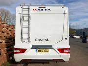 Adria Coral XL Plus rear