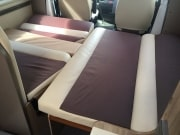 Adria Matrix Axess 590SG Dinette Bed Cusions