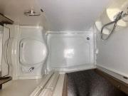Adria Matrix Axess 590SG bathroom floorplan
