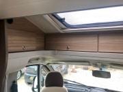 Adria Matrix Axess 590SG overcab window