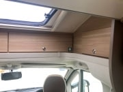 Adria Matrix Axess 590SG panoramic window