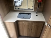 Adria Matrix Axess 590SG kitchen