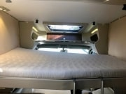 Adria Matrix Supreme 687SBC front lowering bed