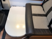Adria Twin SP Lounge table as bed base