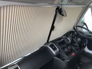 Adria Twin SP cab blinds
