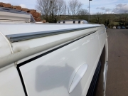 Adria Twin SP driveaway awning rail and drip stop channel