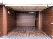 Adria Twin SP garage area