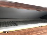 Adria Twin SP inside overcab storage