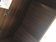 Adria Twin SP inside wardrobe