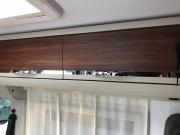 Adria Twin SP lounge storage