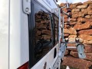 Adria Twin SP rear windows