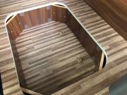 Adria Twin SP underfloor storage