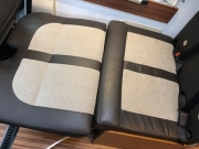 Adria Twin SP Lounge as bed