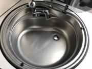 Adria Twin SP kitchen sink
