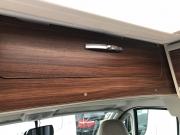 Adria Twin SP overcab storage