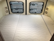Adria Twin SP rear bed