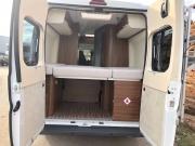 Adria Twin SP rear doors open